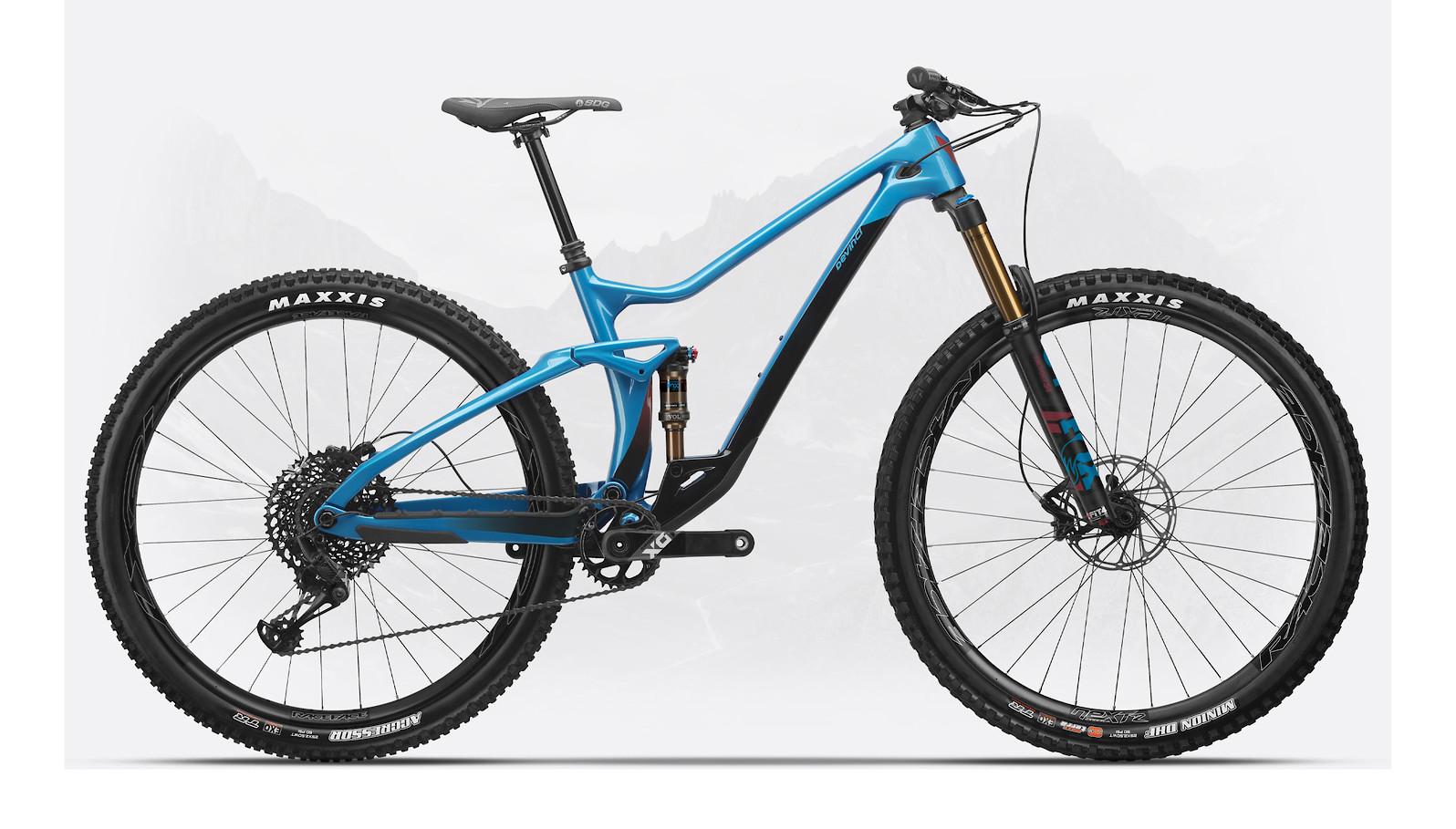 2020 Devinci Django Carbon 29 X01 (Gloss Lunar Blue)