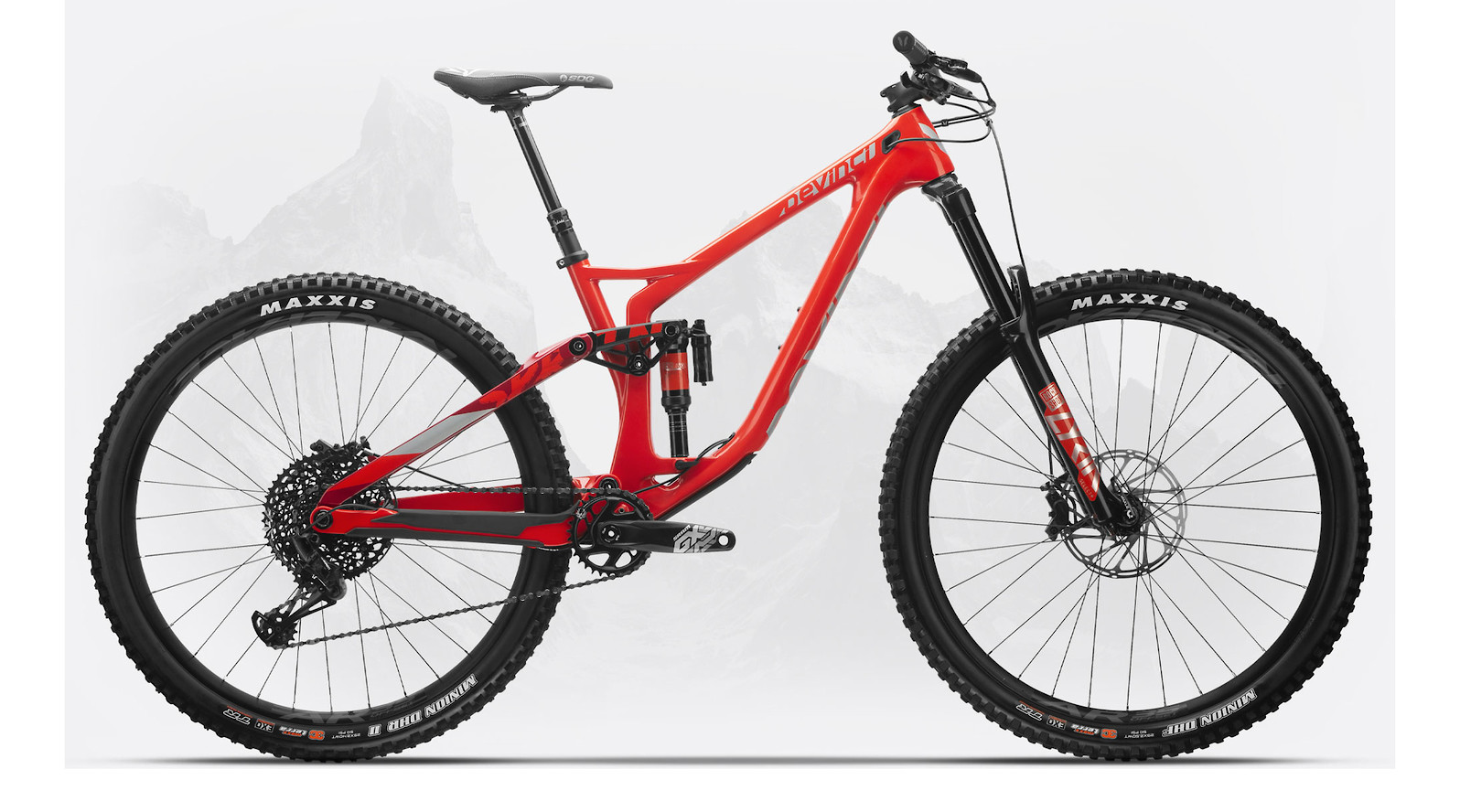 New MTB Downhill Bicycle Bike Riser Handlebar 630mm 20mm Rise White