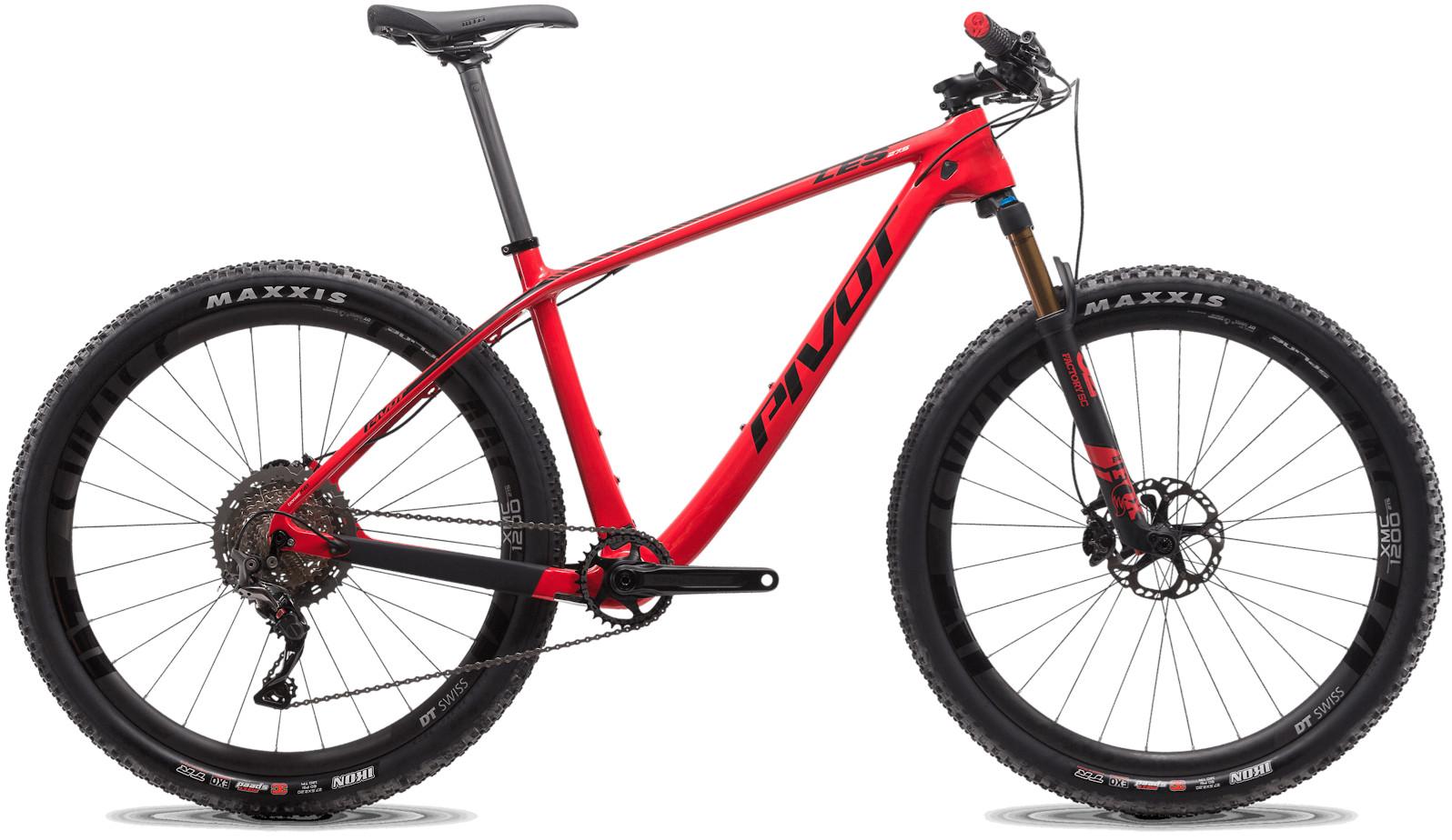2020 Pivot LES 27.5 Westside Red (Team XTR build pictured)