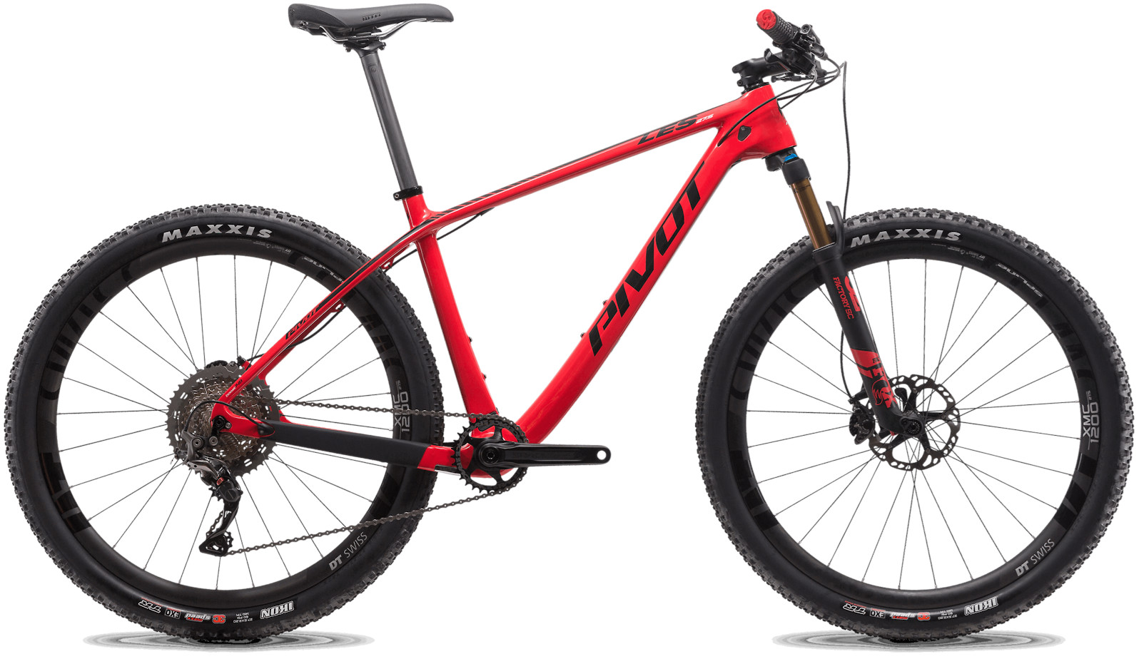 2020 Pivot LES 27.5 Westside Red (Team XTR build pictured)