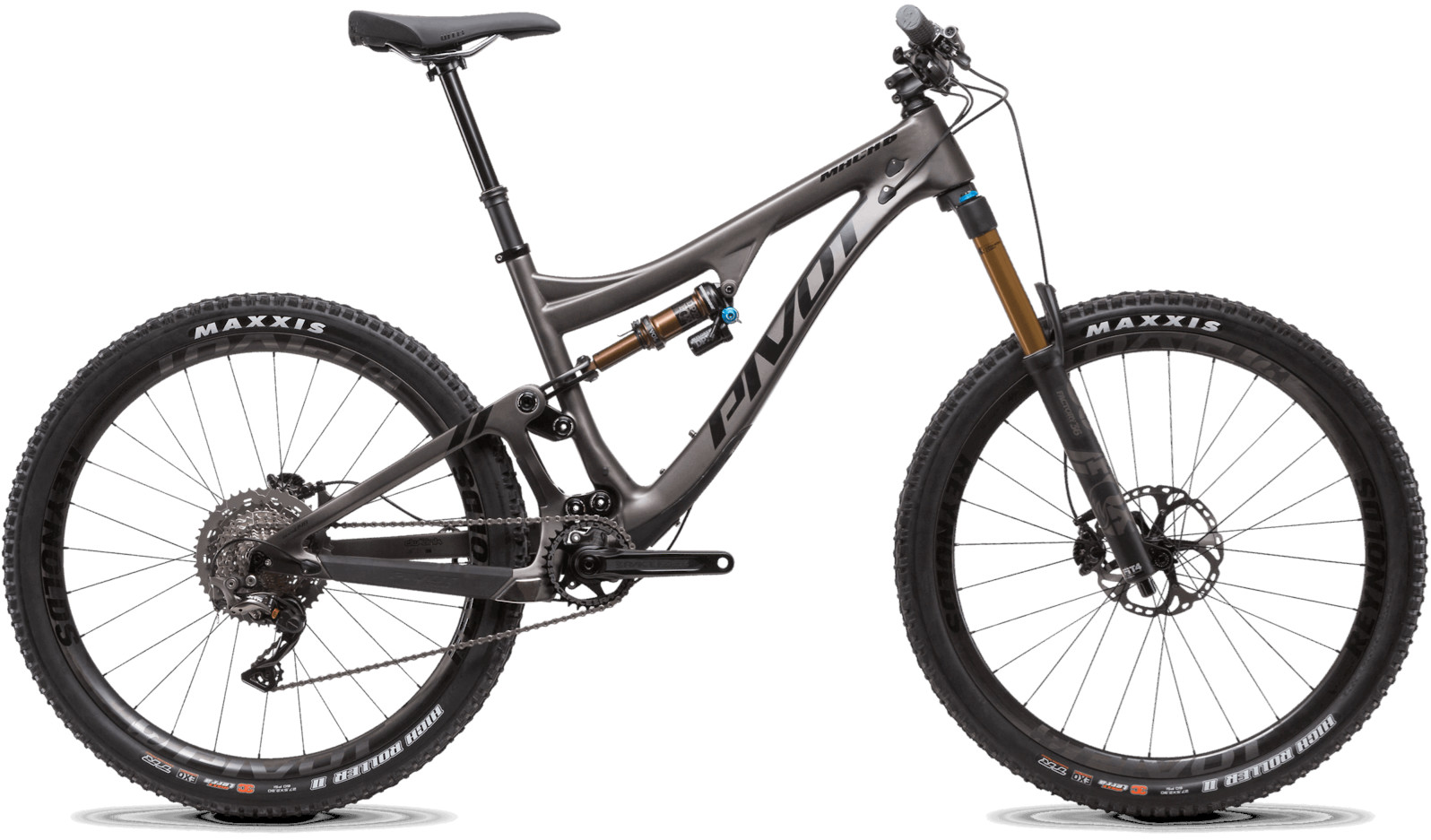 2020 Pivot Mach 6 Carbon Sterling Silver (Team XTR build pictured)