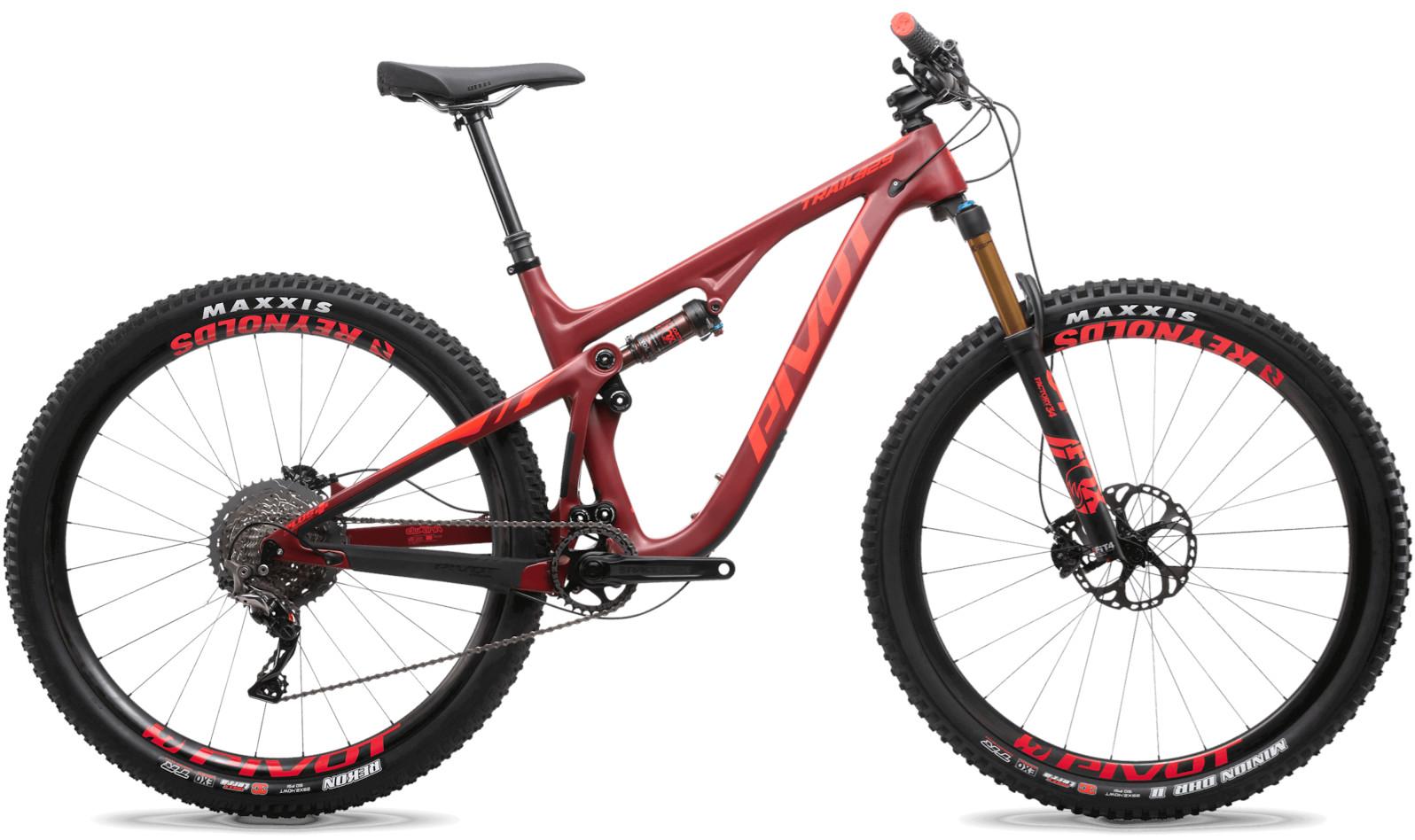 2020 Pivot Trail 429 Crimson (29 Team XTR build pictured)