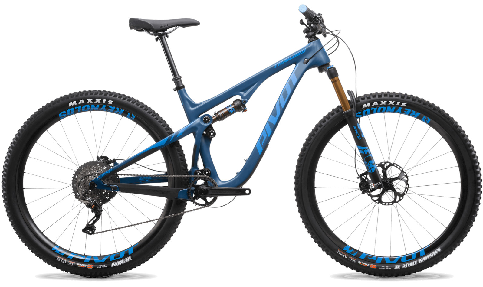 2020 Pivot Trail 429 Steel Blue (29 Team XTR build pictured)