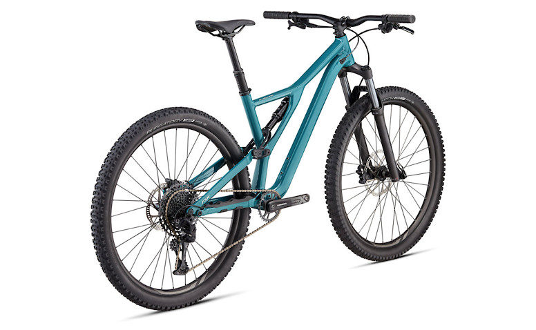 2020 Specialized Stumpjumper ST Alloy 29 - Gloss Dusty Turquoise / White Mountains
