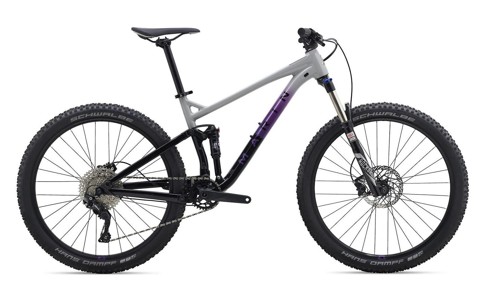 2020 Marin Hawk Hill 1 - Gloss Grey/Purple/Black
