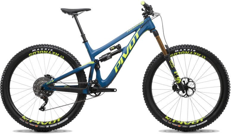 2020 Pivot Firebird 29 Steel Blue (Pro XT XTR 12 Speed build pictured)