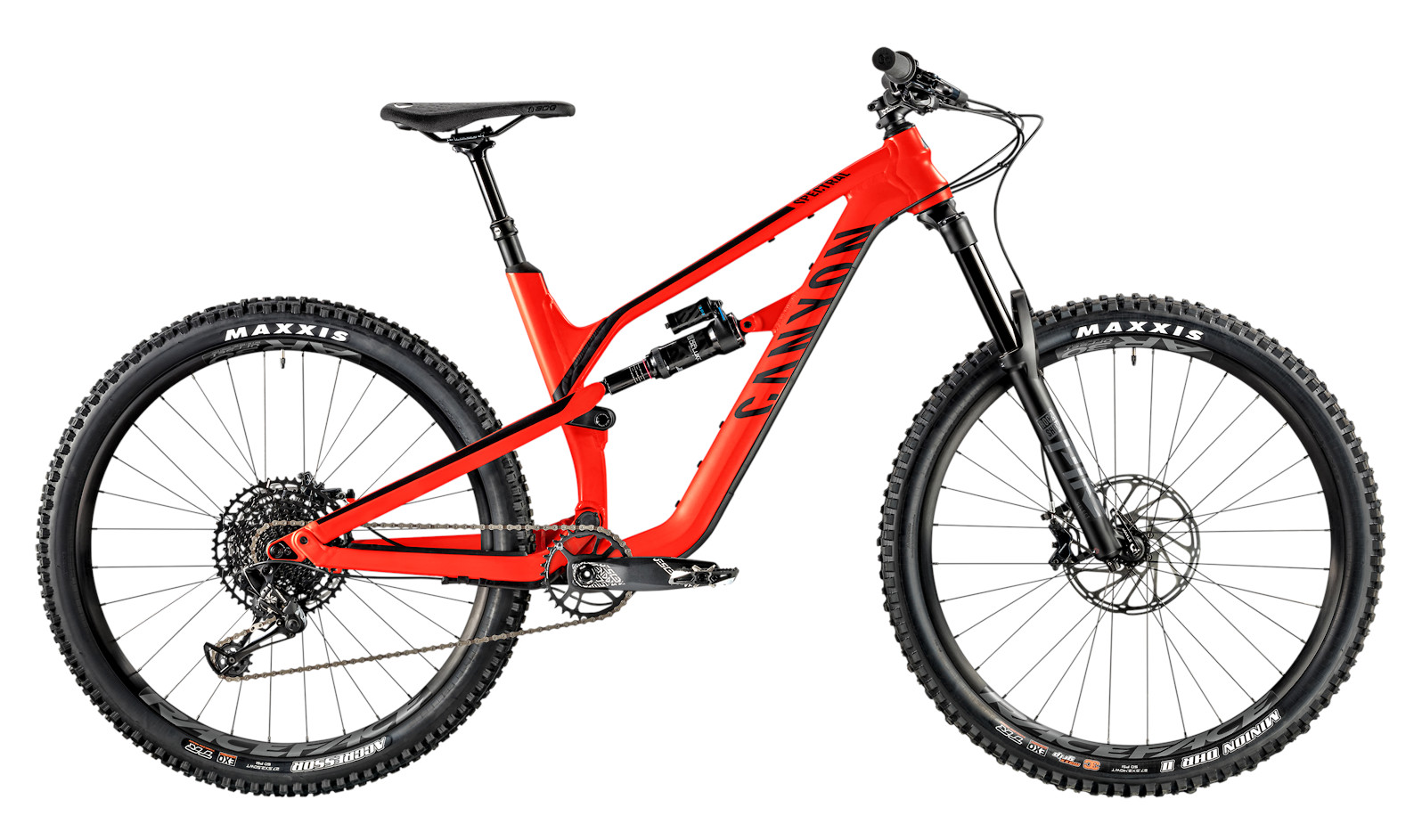 2020 Canyon Spectral AL 5.0 (Super Red)