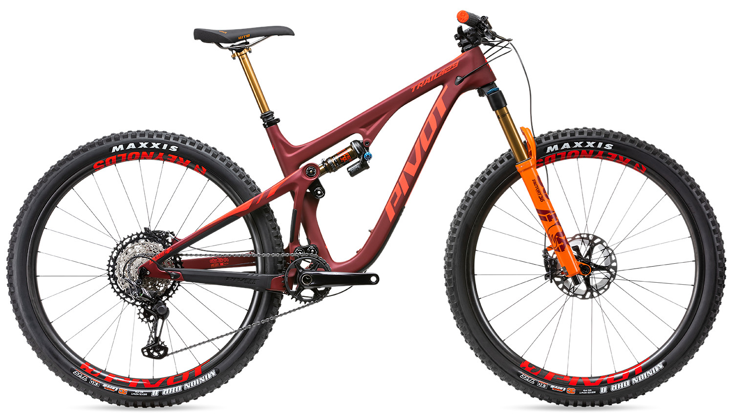 2020 Pivot Trail 429 Limited Edition Enduro Pro XT XTR 12 Speed Crimson