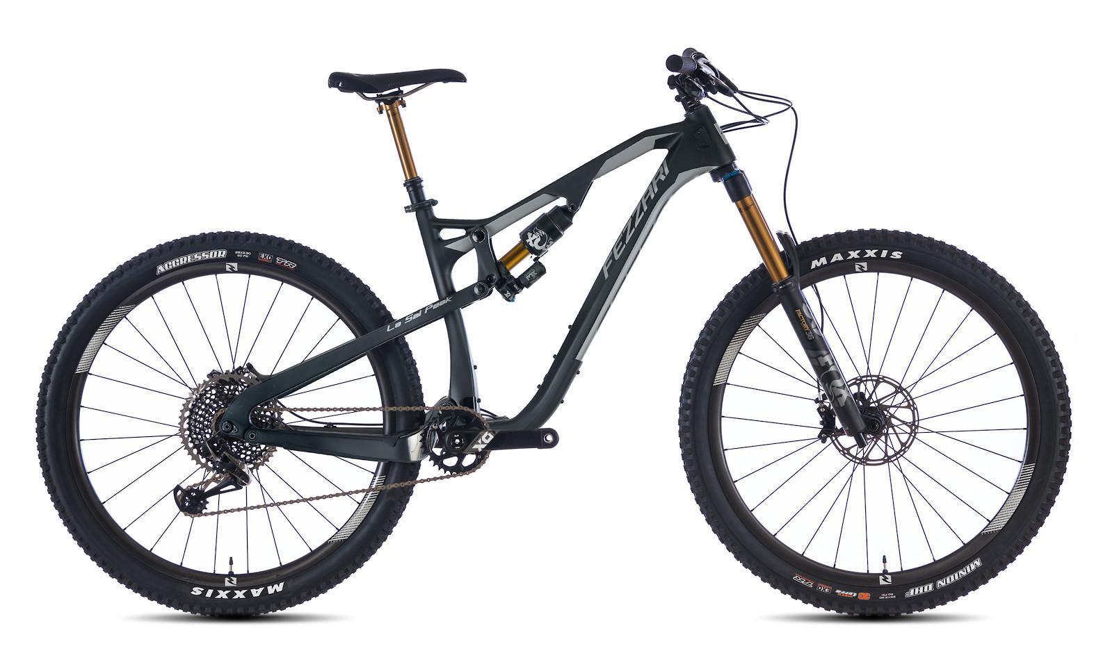 2020 Fezzari La Sal Peak Pro (Raw Carbon and Silver)