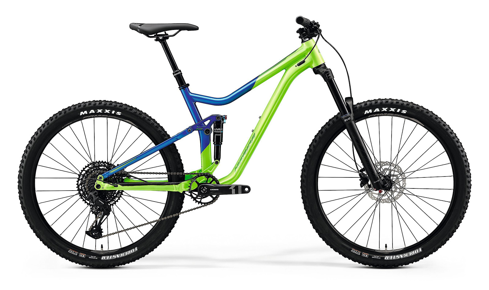 2020 Merida One-Forty 400 (Light Green/Glossy Blue)