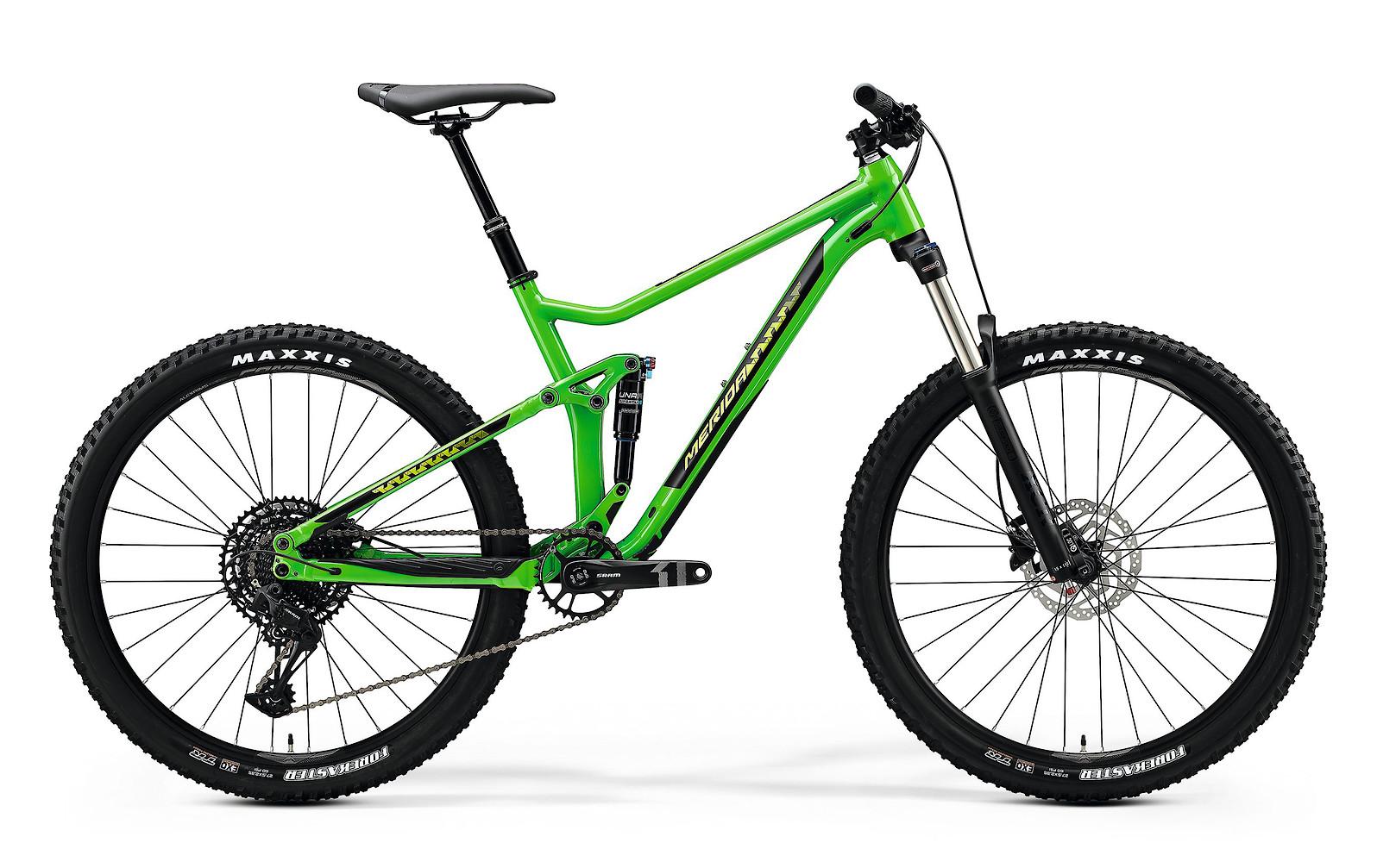 2020 Merida One-Twenty 7. 400 (Glossy Green/Black)