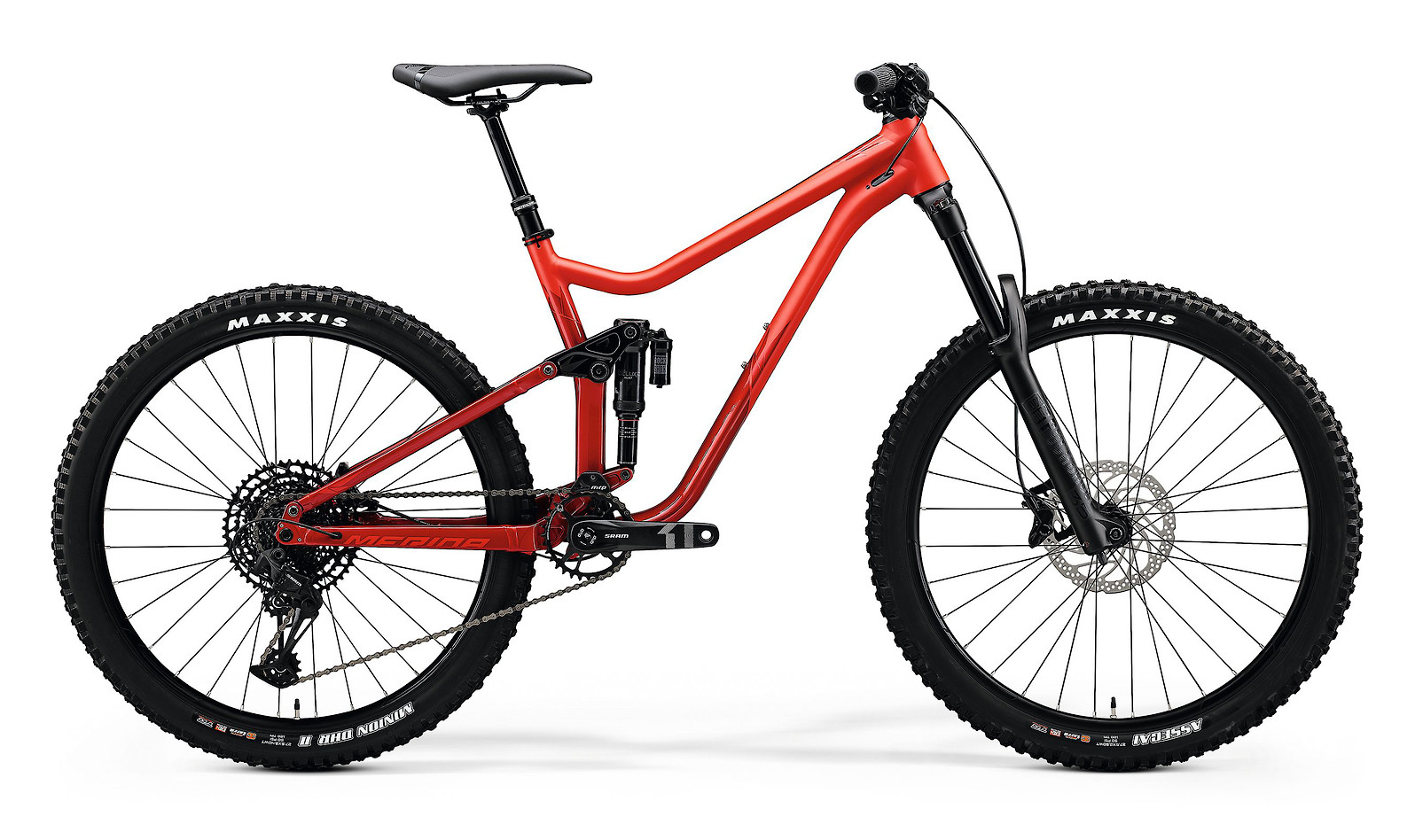 2020 Merida One-Sixty 400 (Matte Red/Glossy Xmas Red)