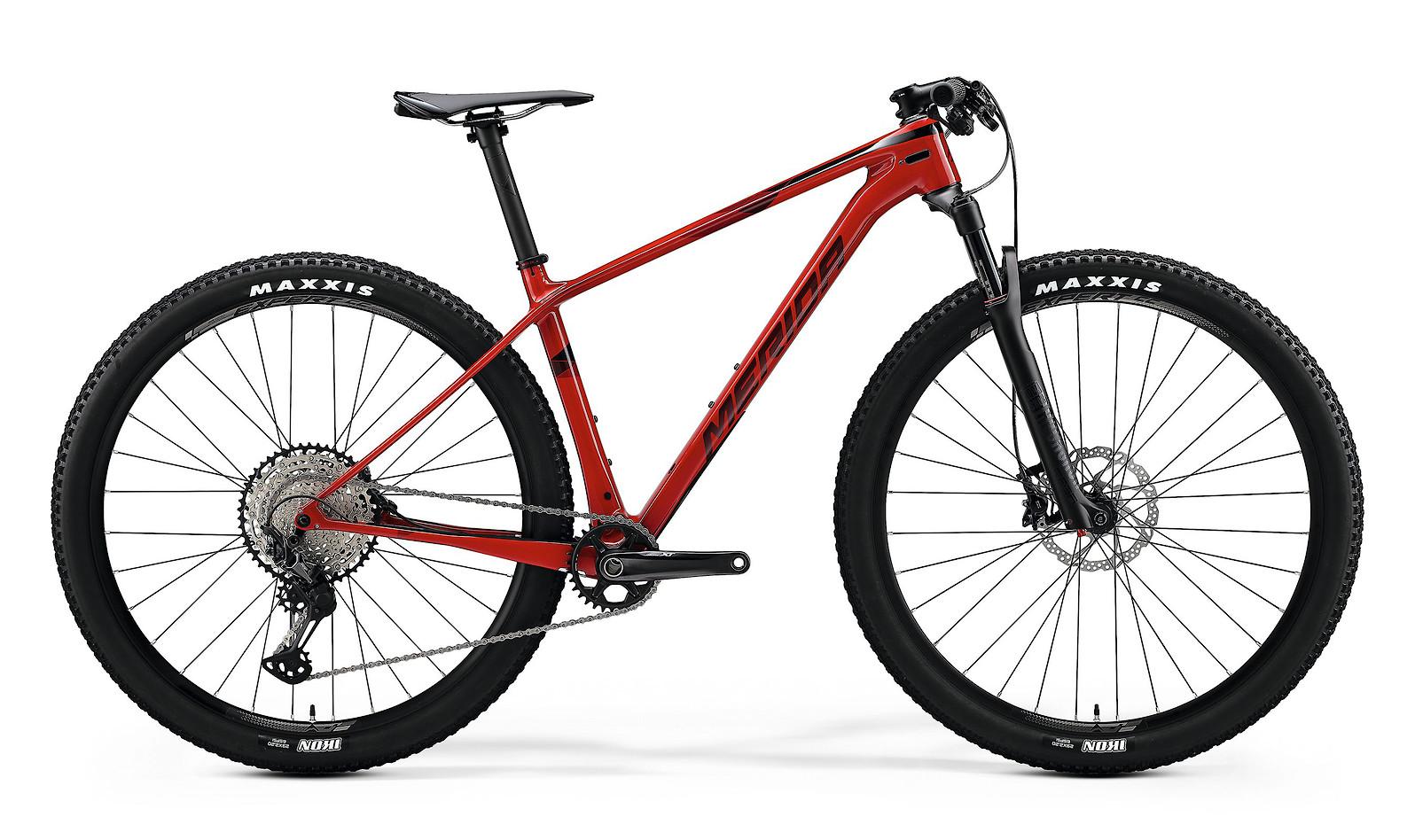 2020 Merida Big.Nine XT (Glossy Sparkling Red/Dark Red)