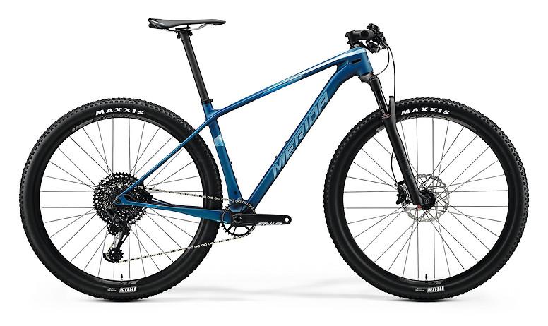 2020 Merida Big.Nine 6000 (Matte Ocean Blue/Glossy Silver-Blue)
