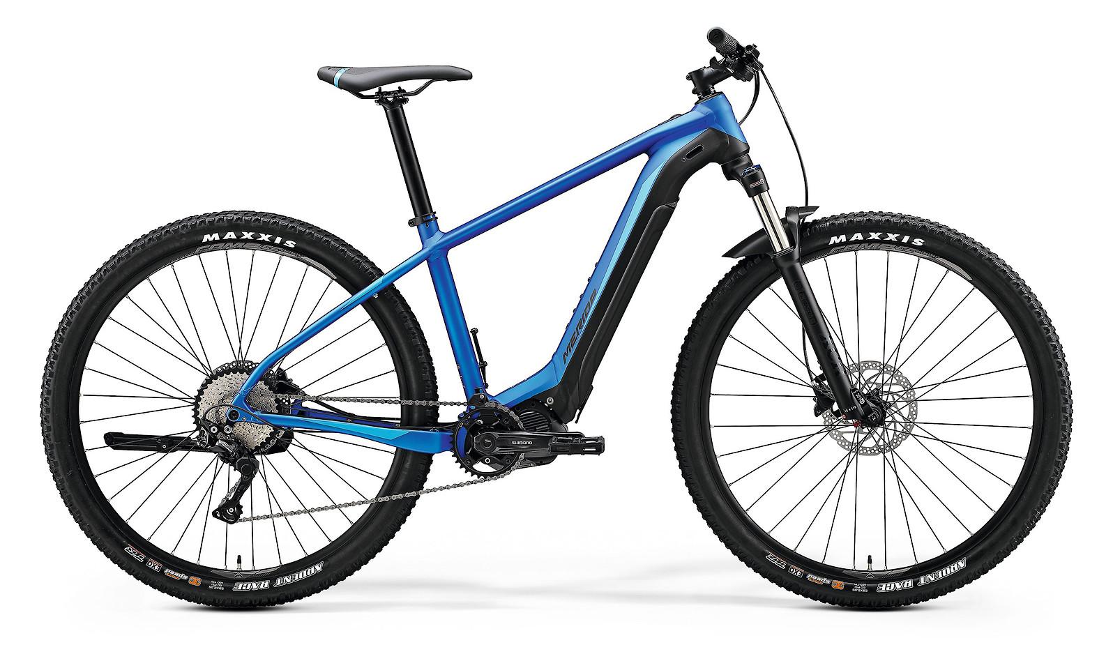 2020 Merida eBig.Nine 400 (Matte Medium Blue/Black)
