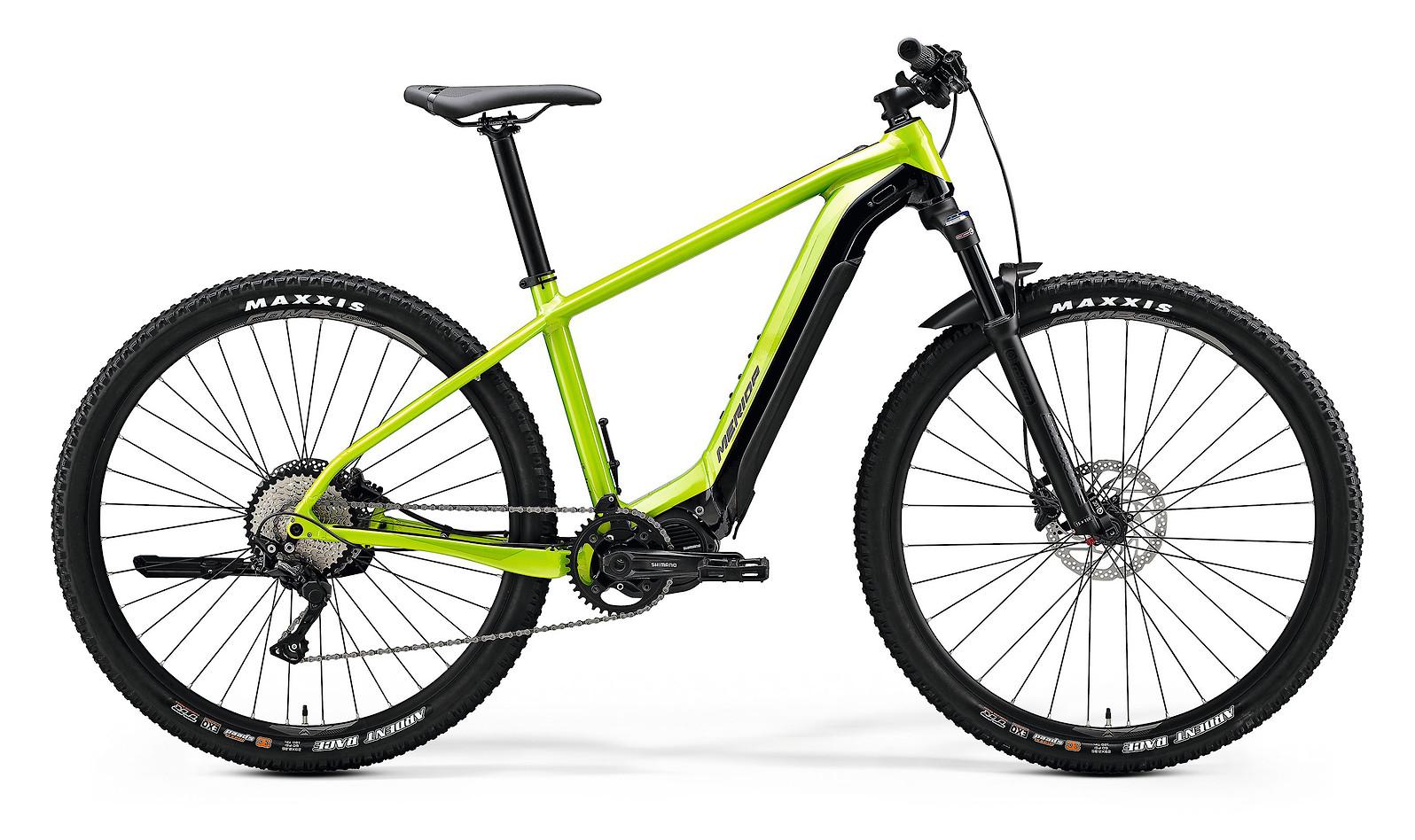 2020 Merida eBig.Nine 600 (Glossy Green/Black)