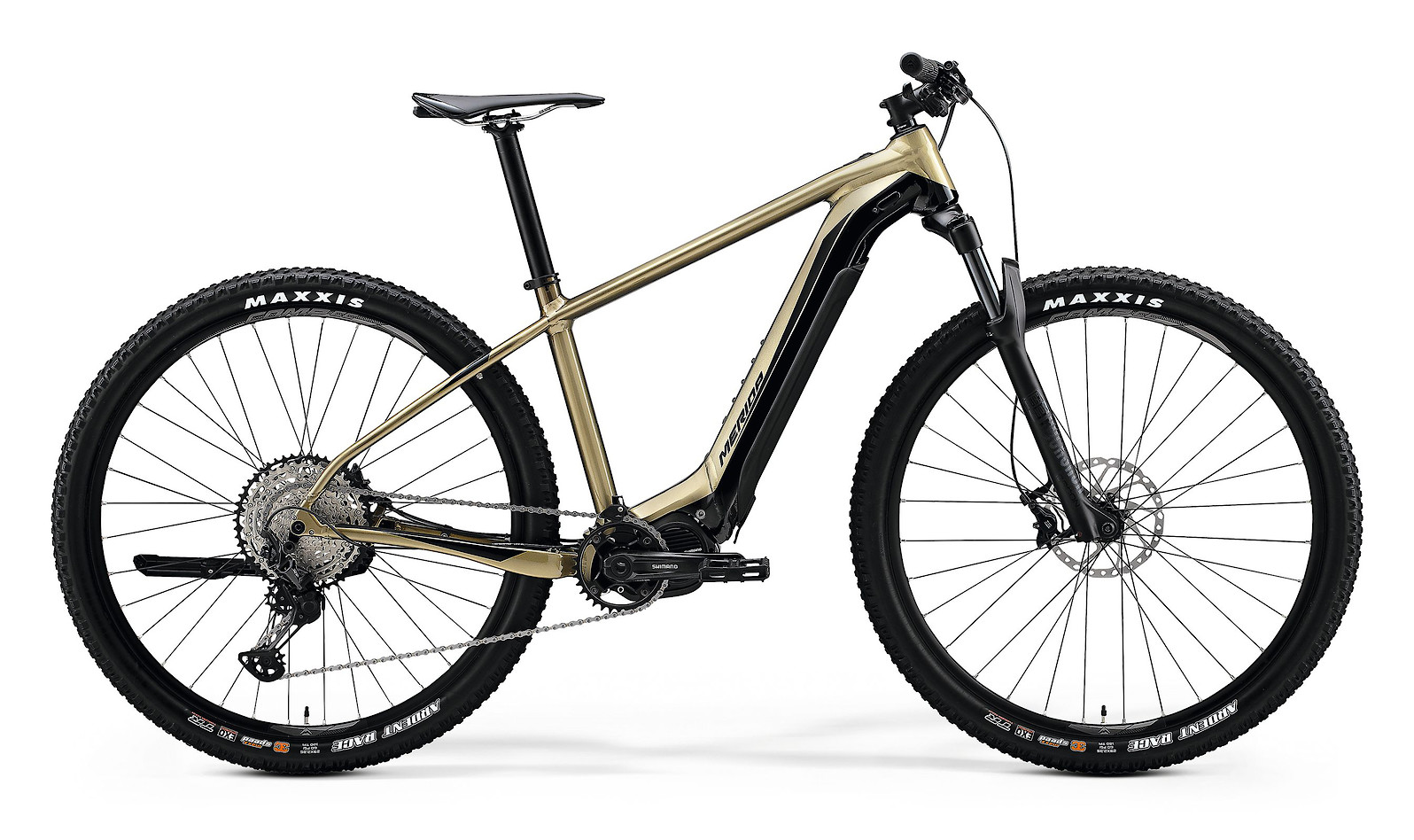 2020 Merida eBig.Nine 700 (Glossy Sand-Gold/Black)