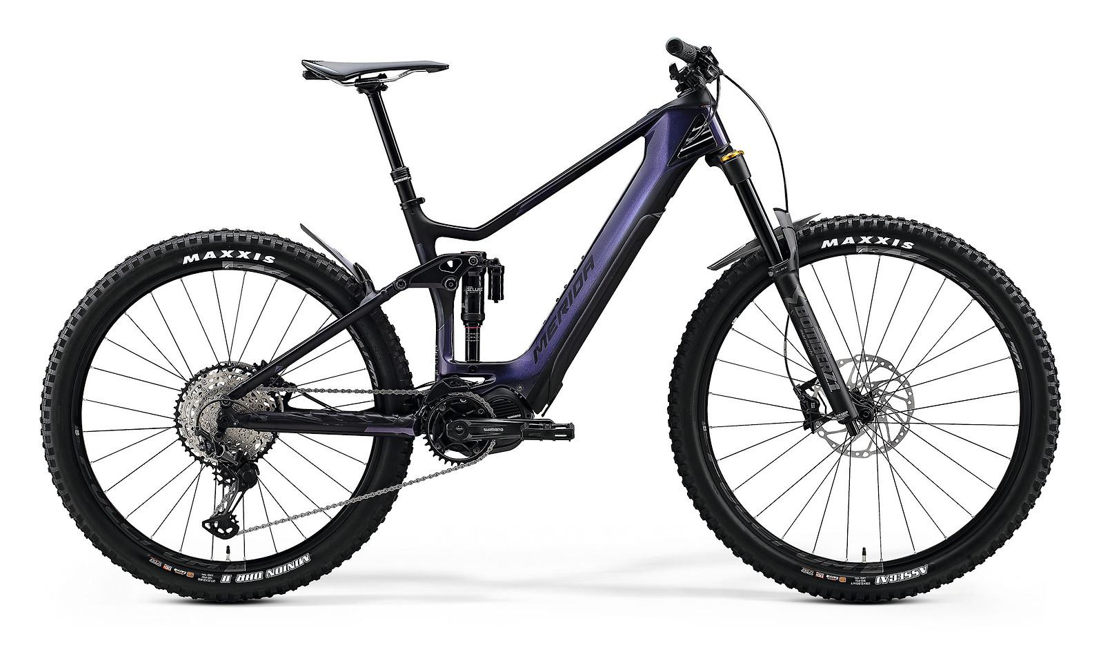2020 Merida eOne-Sixty 8000 (Glossy Purple Rainbow/Matte Black)