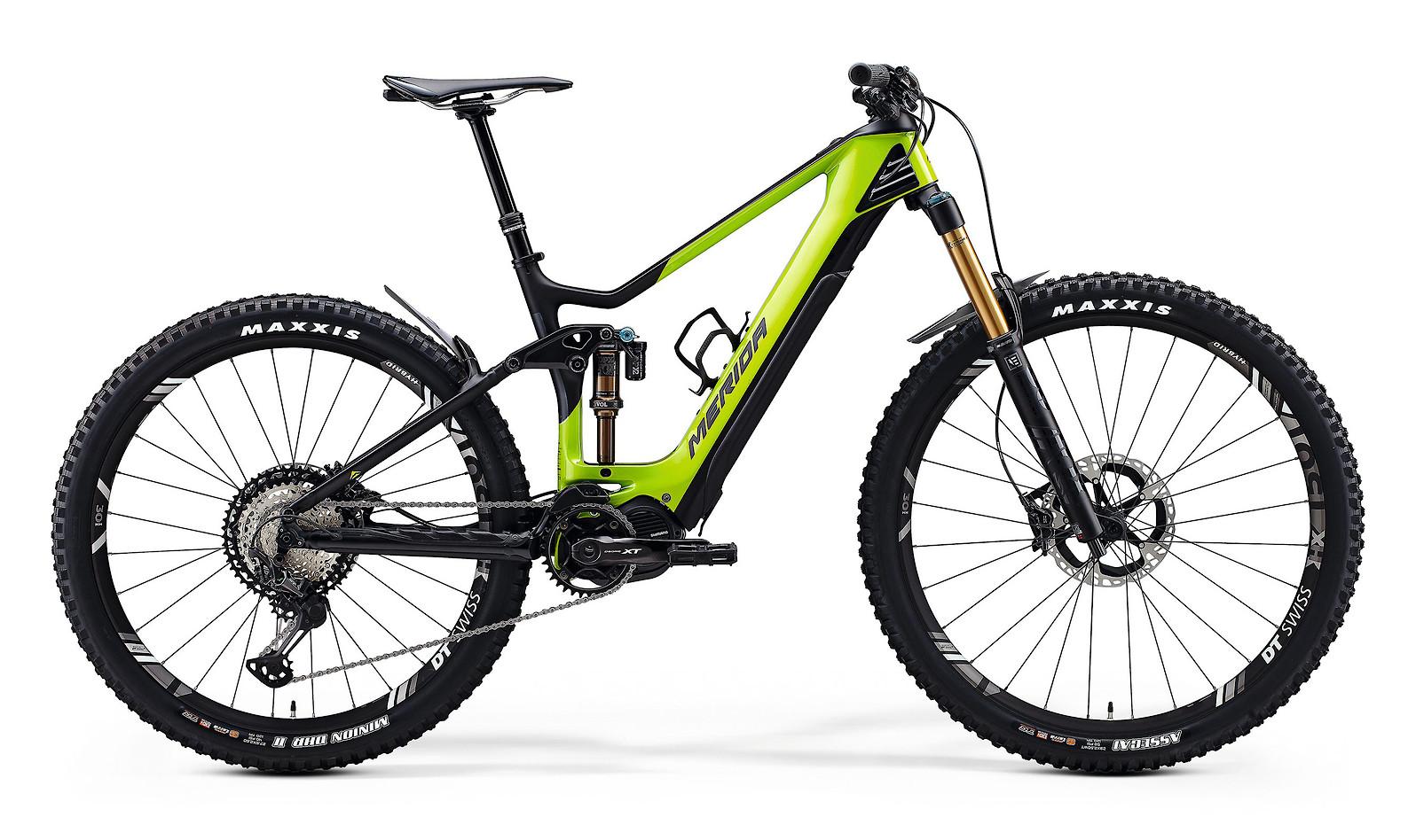 2020 Merida eOne-Sixty 9000 (Glossy Green/Matte Black)