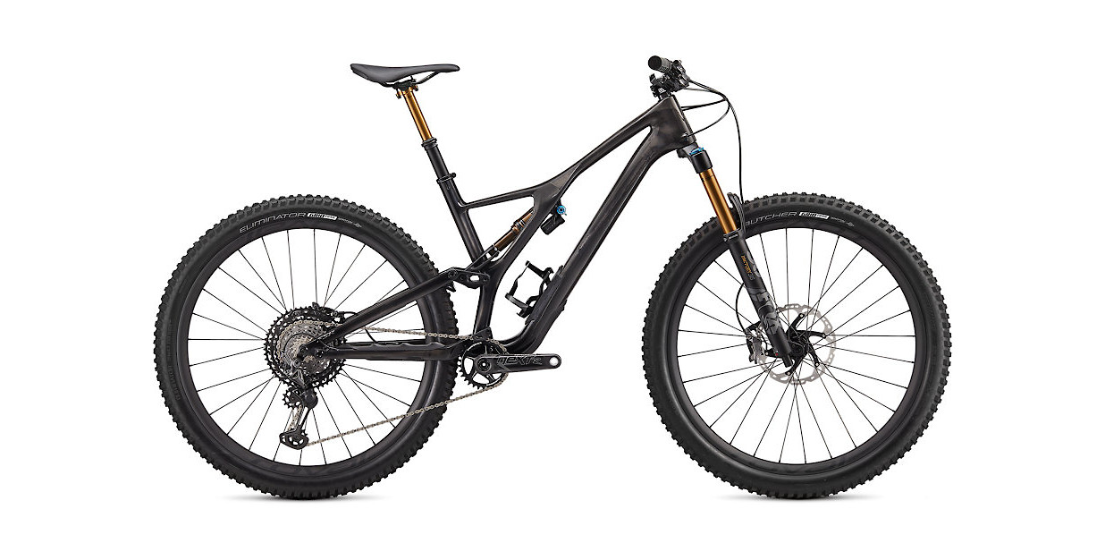 2020 Specialized S-Works Stumpjumper 29 - Gloss Carbon / Black Chrome