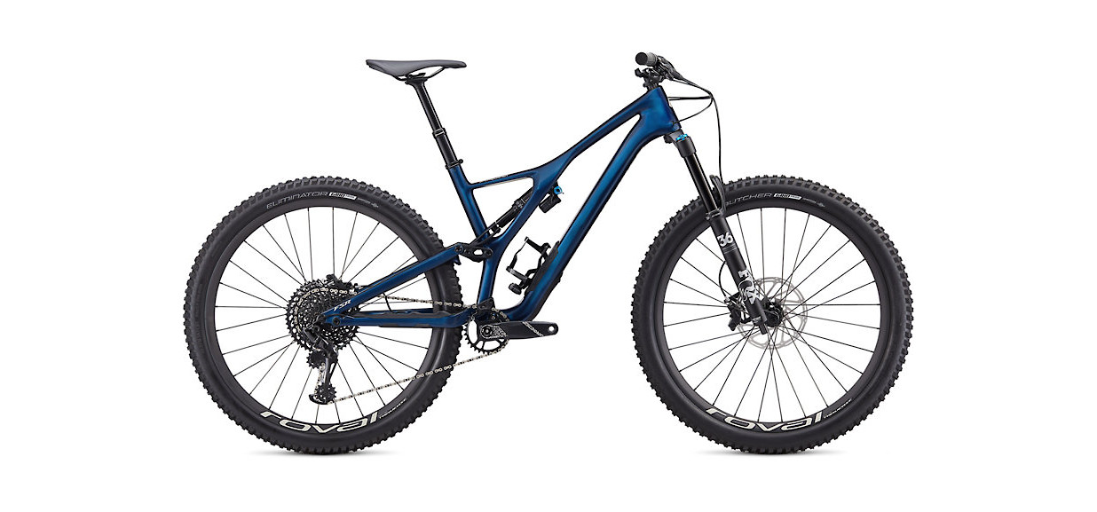 2020 Specialized Stumpjumper Expert Carbon 29 - Gloss Navy / White Mountains