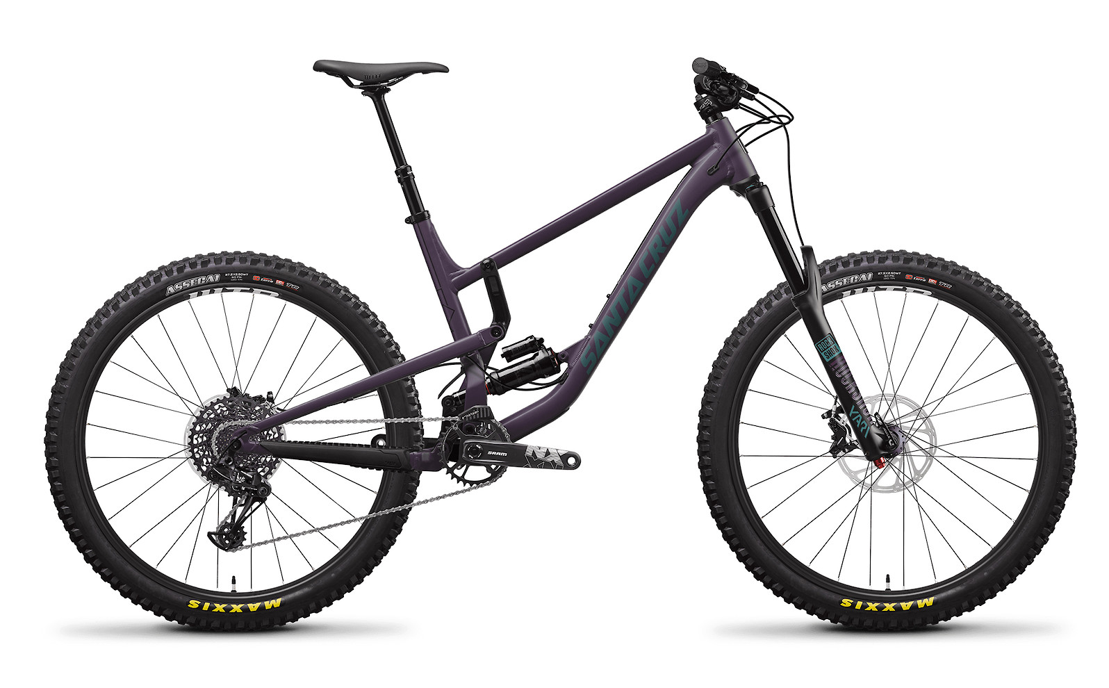2020 Santa Cruz Nomad Aluminum R (Eggplant and Aquarius Green)