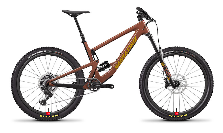 2020 Santa Cruz Bronson Carbon CC X01 (Regular Build with Reserve wheels, Red Tide and Yellow)