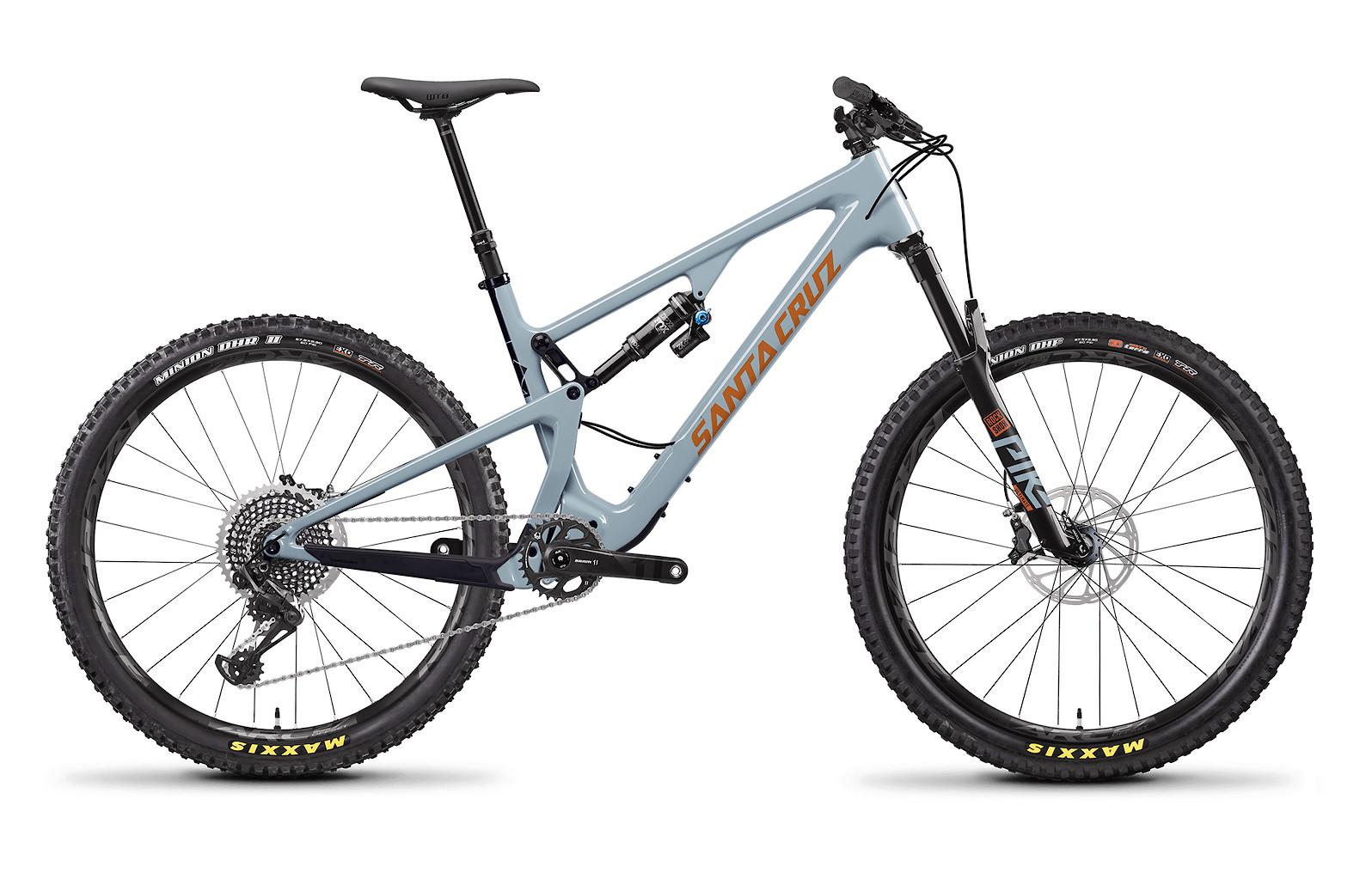 2020 Santa Cruz 5010 Carbon CC X01 (Regular Build, Robins Egg and Orange)