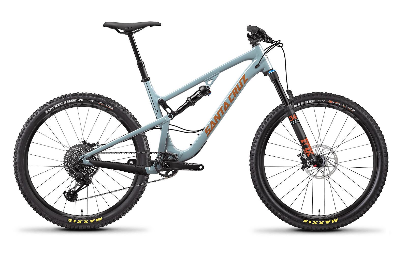 2020 Santa Cruz 5010 Aluminum S (Regular Build, Robins Egg and Orange)