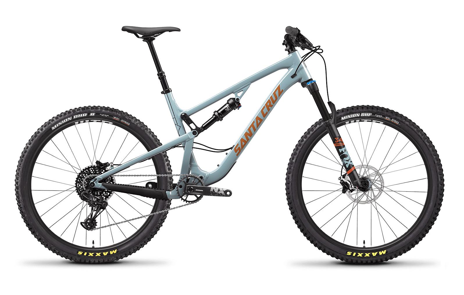 2020 Santa Cruz 5010 Aluminum R (Regular Build, Robins Egg and Orange)