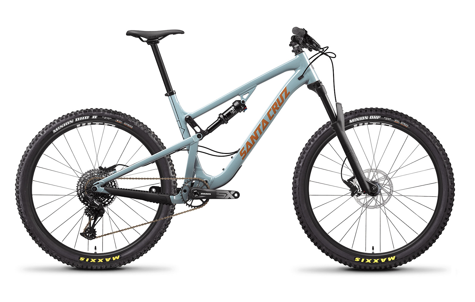 2020 Santa Cruz 5010 Aluminum D (Regular Build, Robins Egg and Orange)