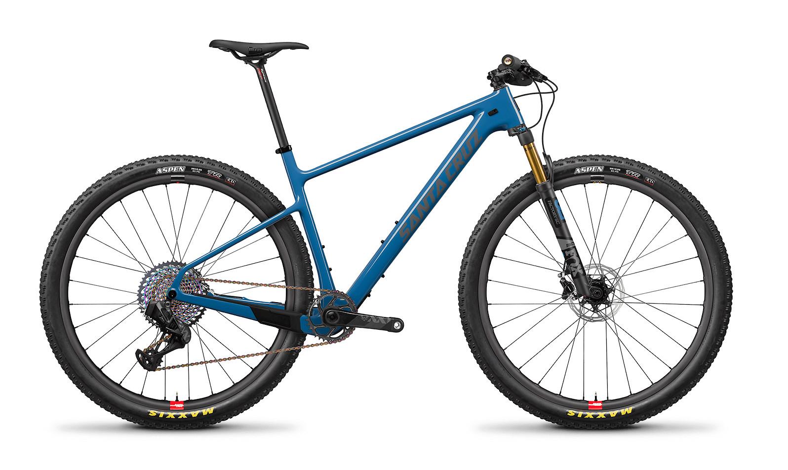2020 Santa Cruz Highball Carbon CC XX1 AXS Reserve (WC Blue and Primer)
