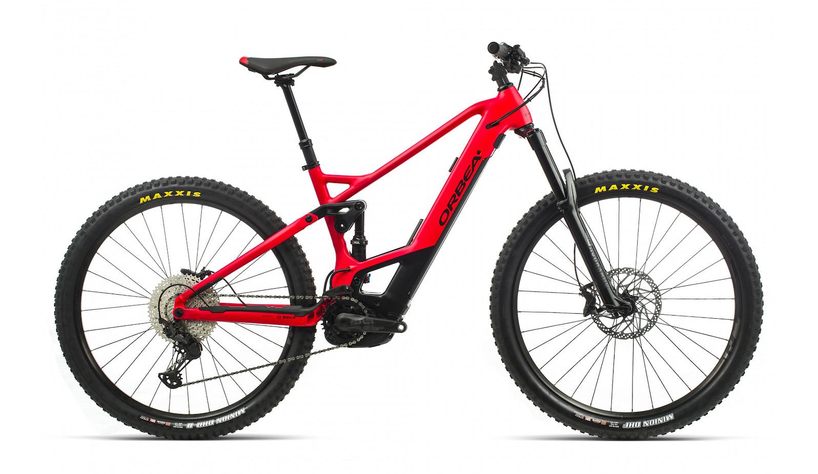 2020 Orbea Wild FS H30 (Bright Red/Matte Black)