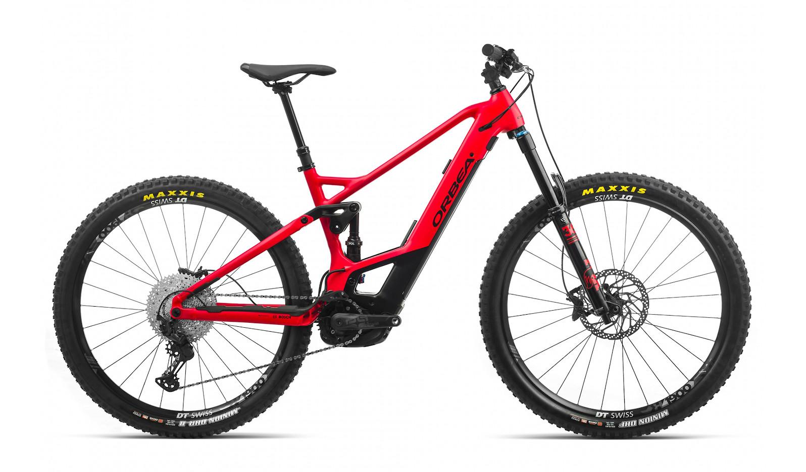 2020 Orbea Wild FS H20 (Bright Red/Matte Black)
