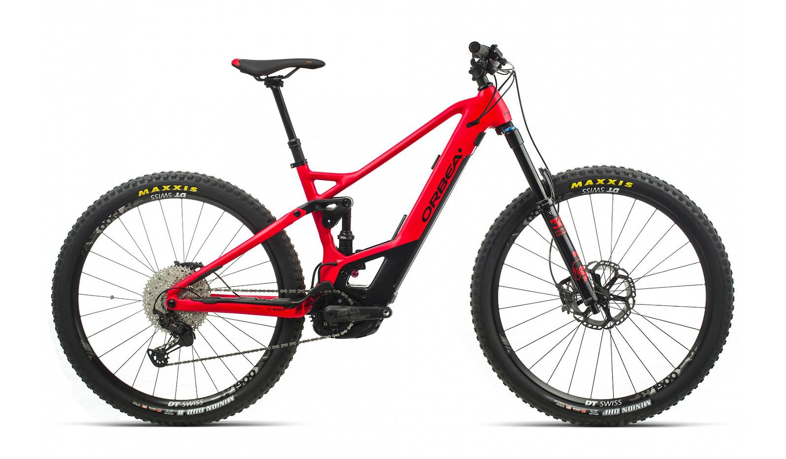 2020 Orbea Wild FS H10 (Bright Red/Matte Black)
