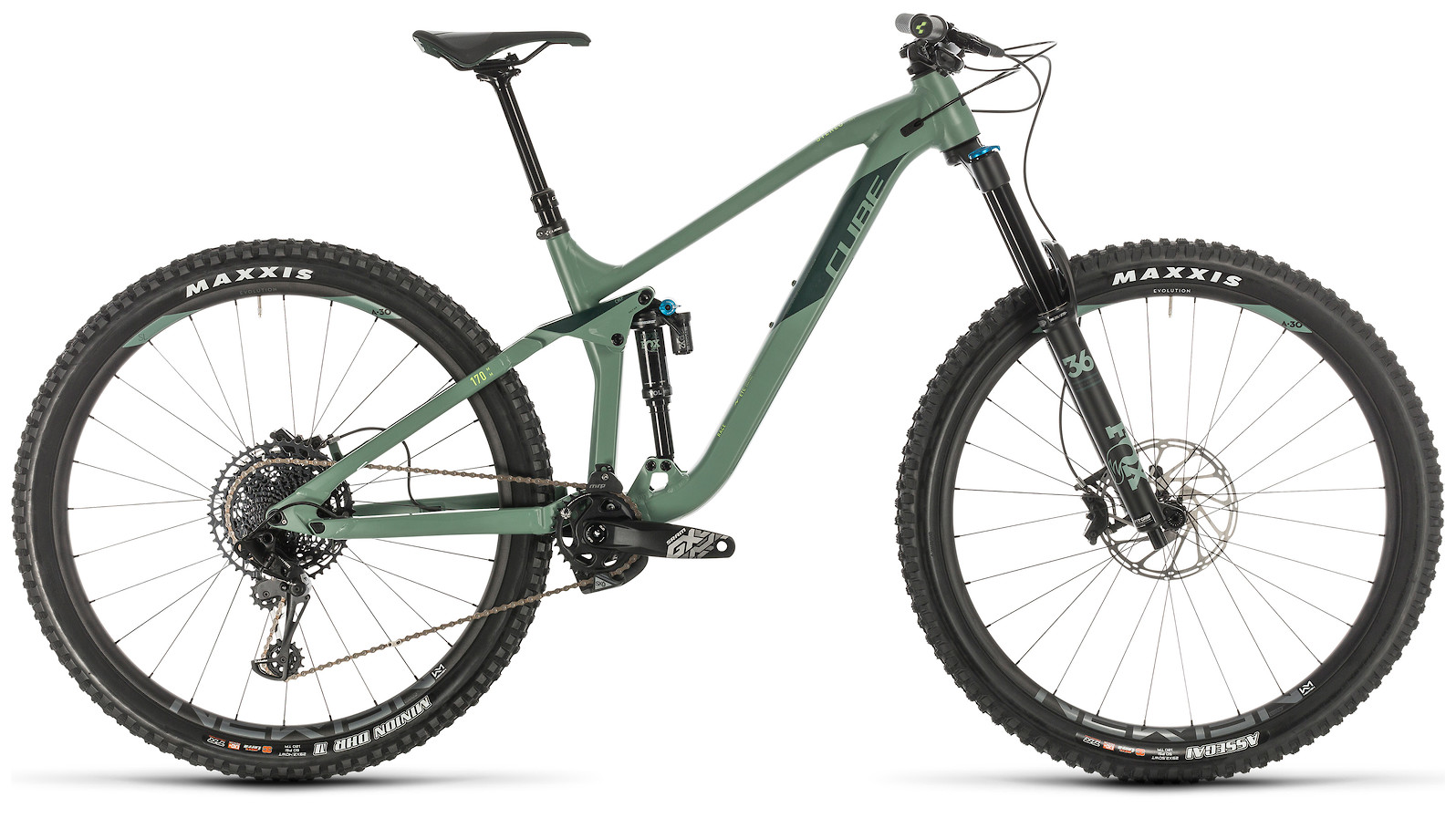 2020 Cube Stereo 170 Race 29