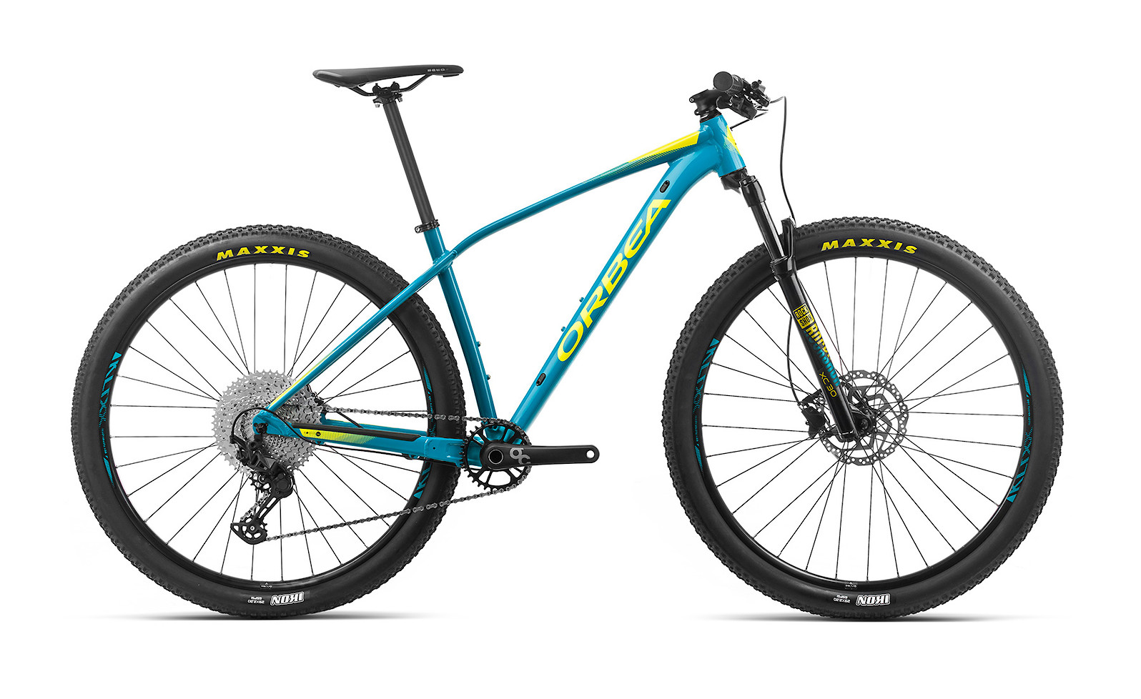 2020 Orbea Alma H30 (Blue Bondi/Gloss Yellow)