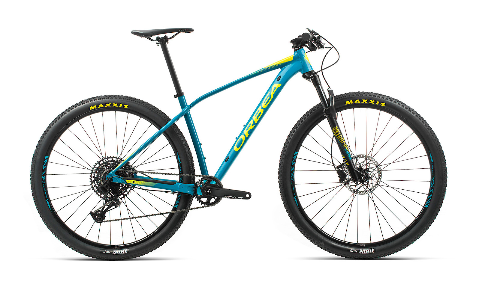 2020 Orbea Alma H20 Eagle (Blue Bondi/Gloss Yellow)