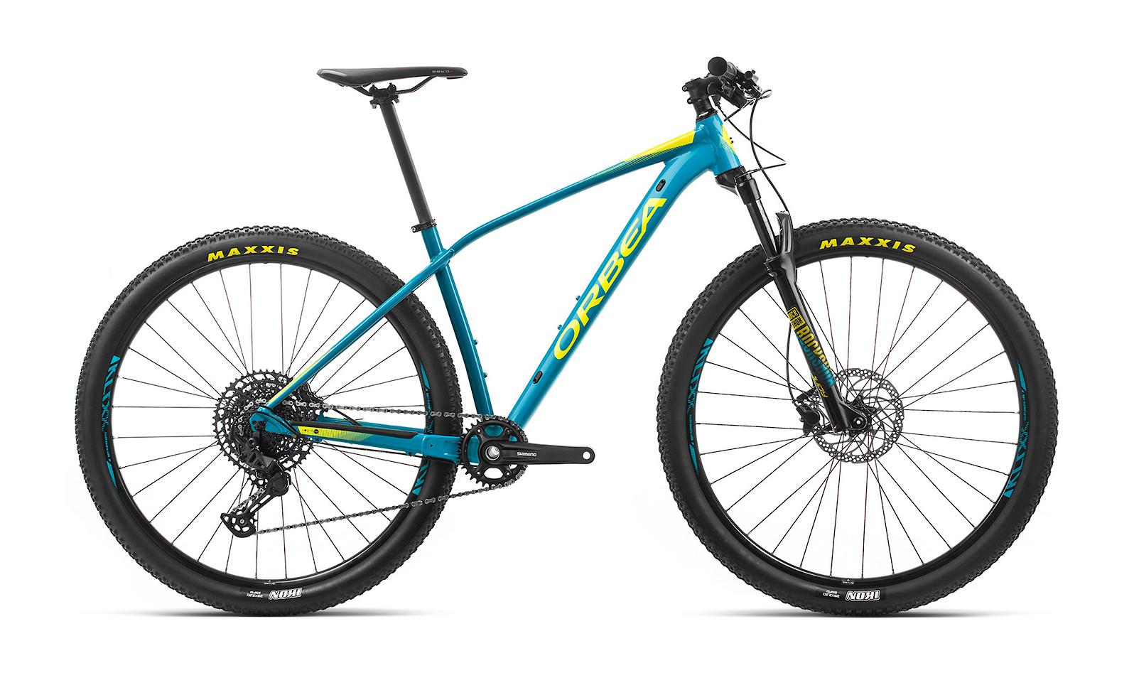 2020 Orbea Alma H20 (Blue Bondi/Gloss Yellow)
