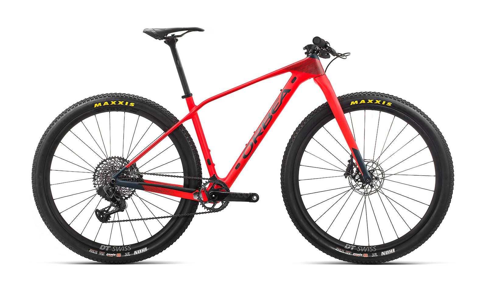 2020 Orbea Alma M-LTD (Bright Red/Matte Blue Indigo)
