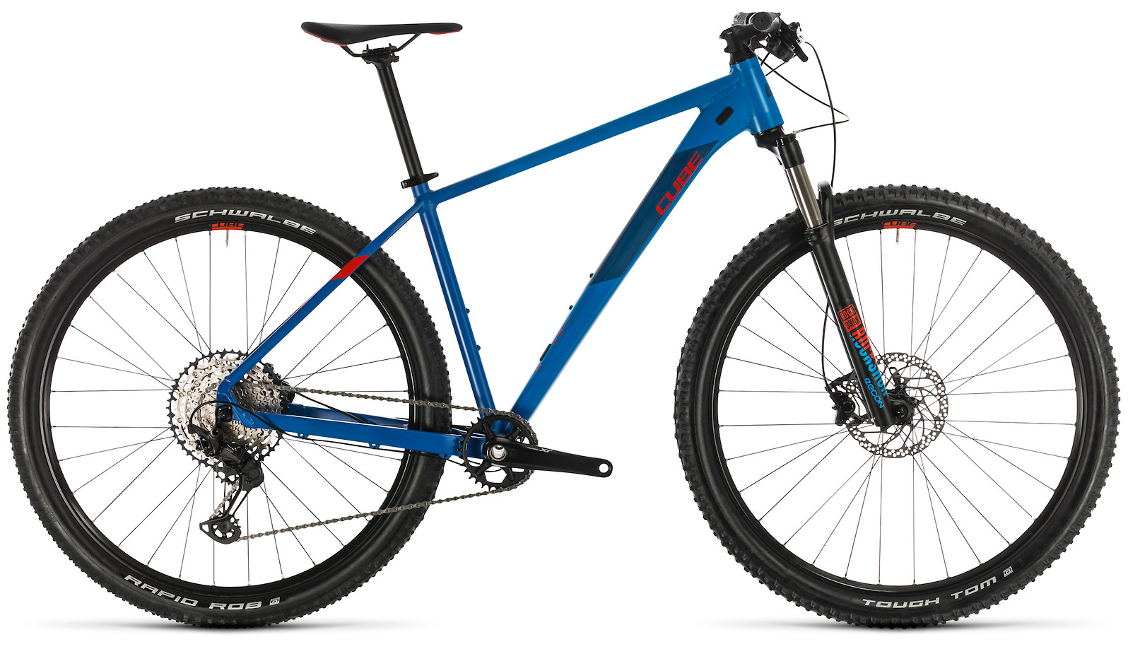 2020 Cube Reaction Pro Blue´n´red