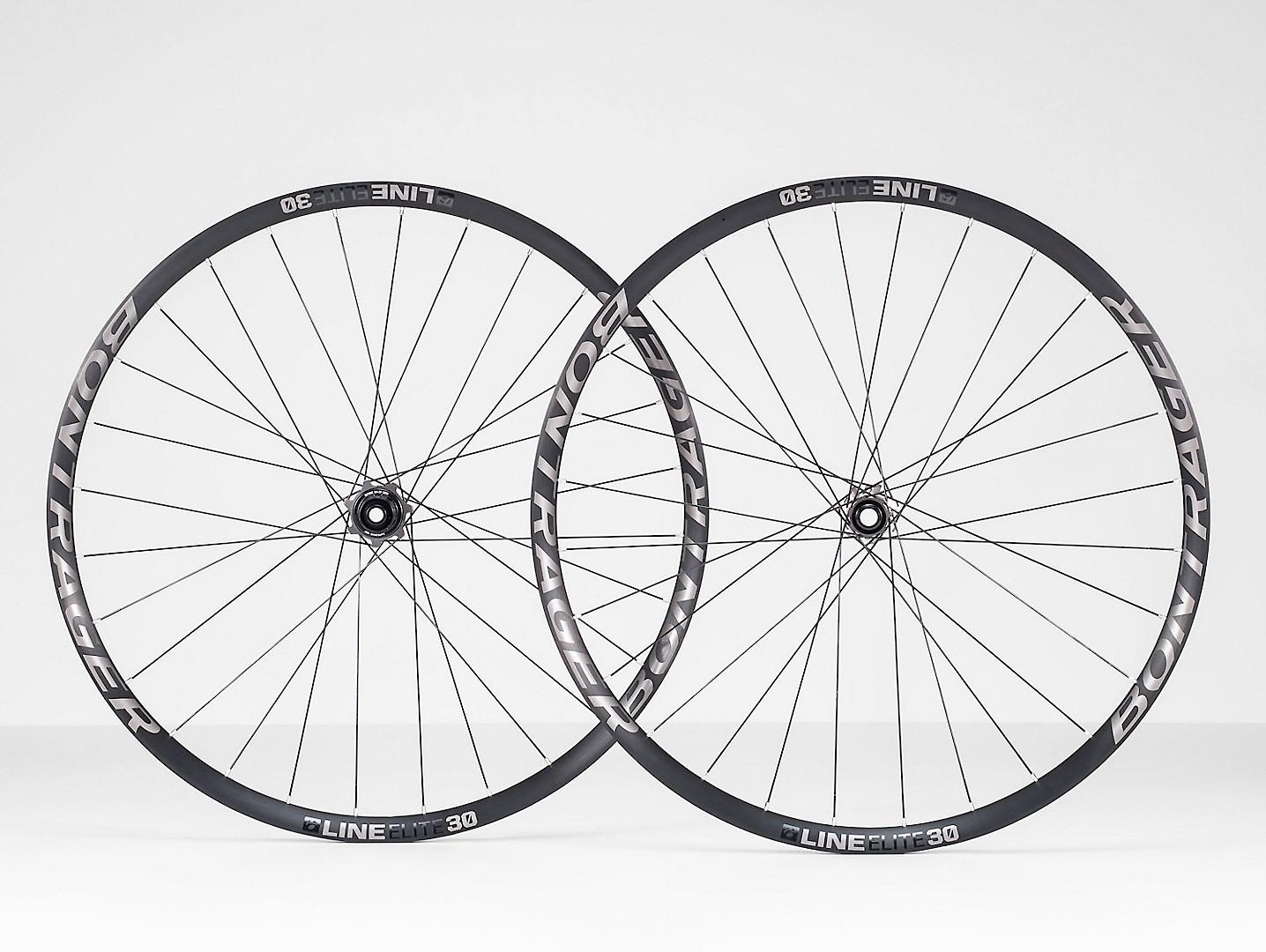 """Bontrager Line Elite 30 Front MTB Wheel //// 29/"""" Boost 110mm Tubeless TLR Disc"""