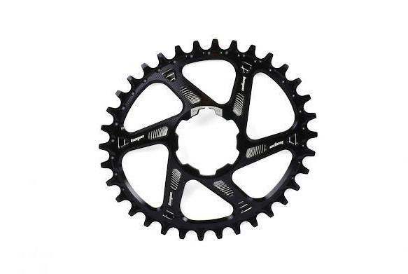 Hope Technology Oval Spiderless Chainring - Black