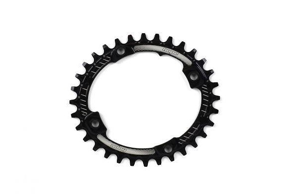 Hope Technology Oval Retainer Chainring - Black