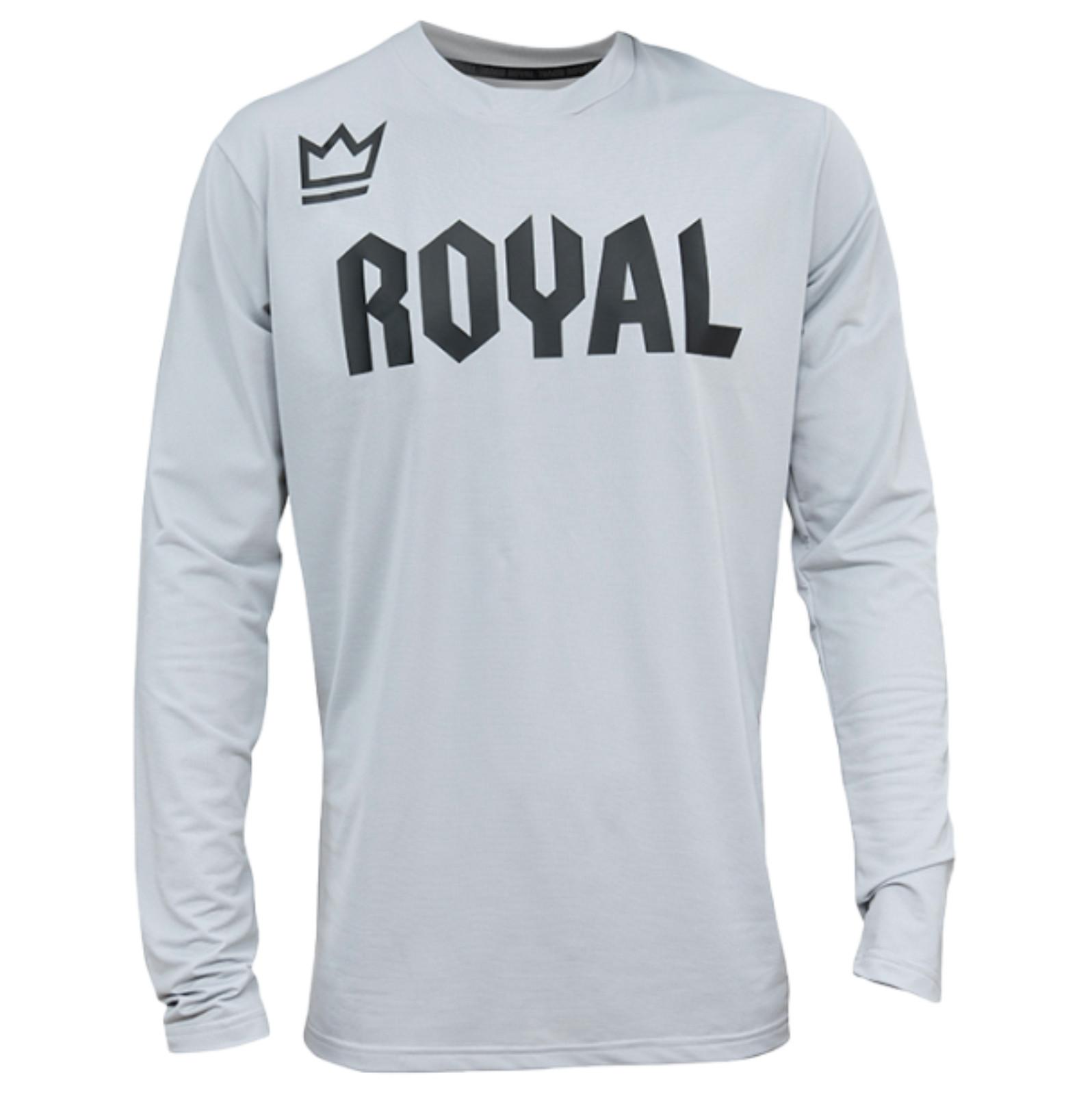 Royal 2020 Race Riding Jersey - Grey