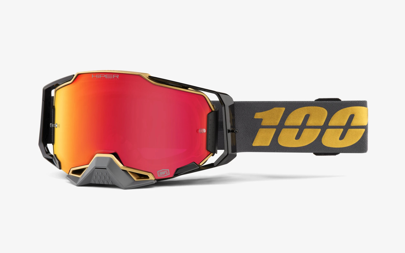 100% Armega - Falcon5 with HiPER Red Mirror lens