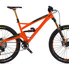 2020 Orange Five Factory Bike