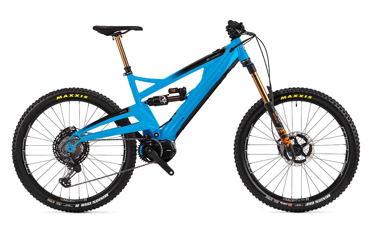 2020 Orange Surge XTR (Cyan Blue)