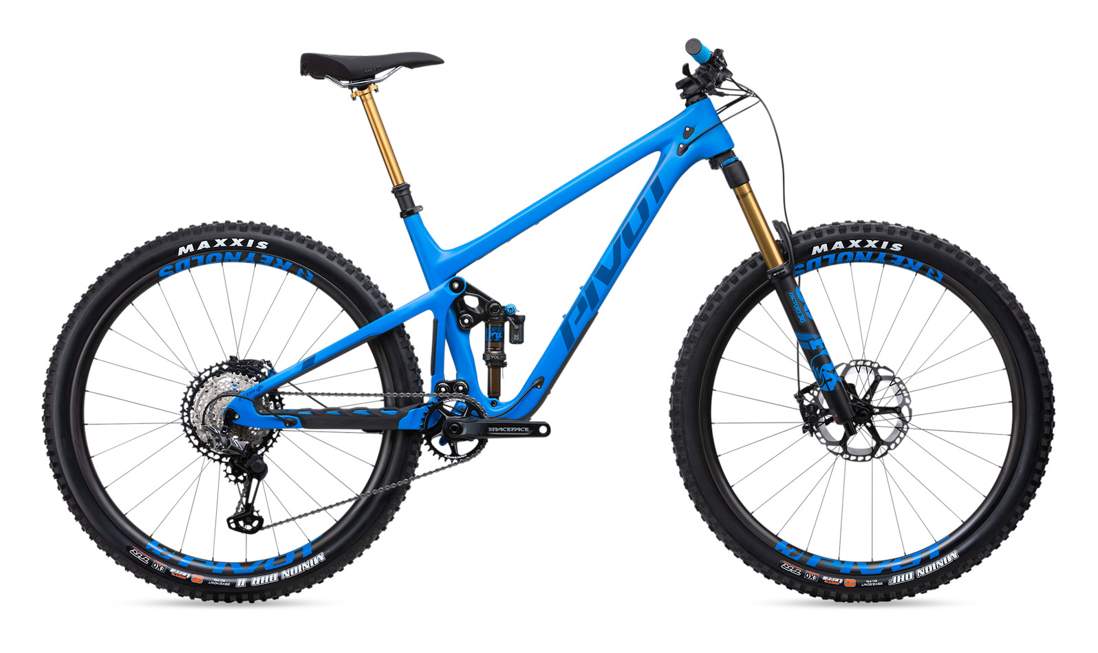 2020 Pivot Switchblade Pro XT/XTR 29 - Horizon Blue with Reynolds wheels upgrade