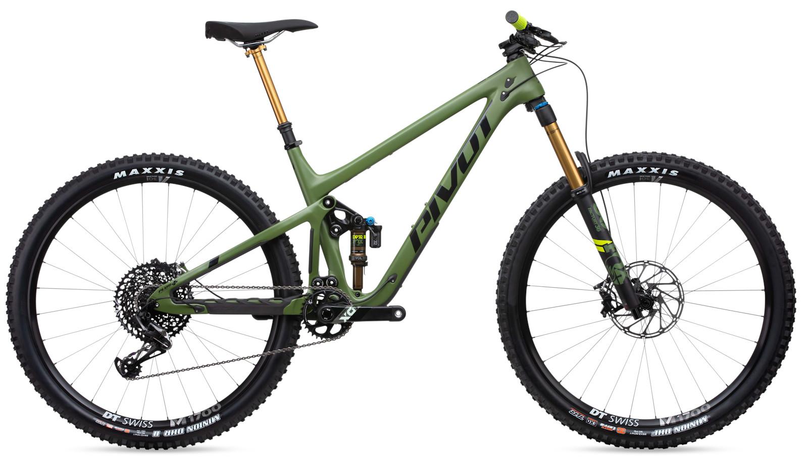 "2020 Pivot Switchblade Pro X01 - Treeline Green with 29"" wheels"